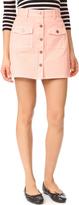 MinkPink Sugar Rusy Safari Denim Skirt