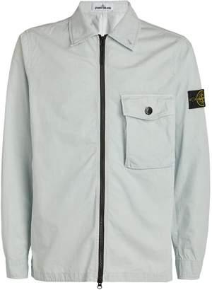 Stone Island Zip-Up Shirt Jacket