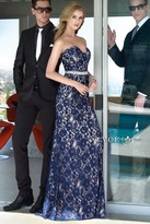 Alyce Paris - 6377 Prom Dress in Navy Nude