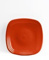 Fiesta Paprika Square Salad Plate