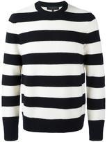 Rag & Bone striped jumper - men - Wool - L
