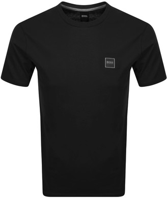 BOSS Tales Logo T Shirt Black