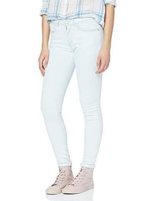 Wrangler Damen Skinny Jeans, Blue (Light Bleach 22N), 28W / 32L