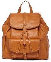 Sole Society Grier double flap backpack