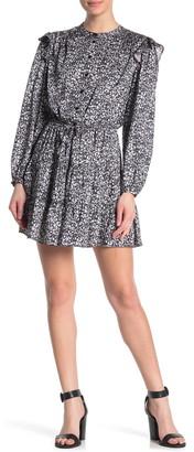 Rebecca Minkoff Hannah Ditsy Long Sleeve Dress