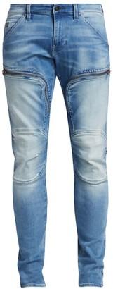 G Star Air Defence Zip Knee Skinny Jeans