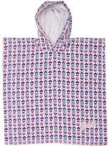 Swell Tots Girls Daisy Row Hooded Towel