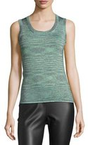M Missoni Space-Dyed Lurex® Tank, Olive