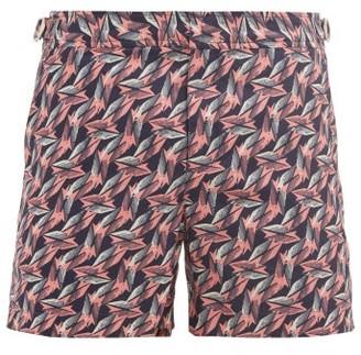 Orlebar Brown Setter Printed Shell Swim Shorts - Pink Navy
