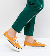 Vans Anaheim Authentic Sneakers In Og Gold