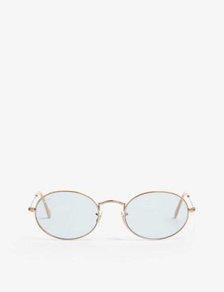 Ray-Ban Rb3547N oval-frame sunglasses