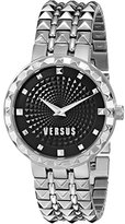 Versus By Versace Women's SOD010014 Coral Gables Analog Display Quartz Silver Watch