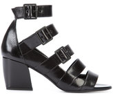 Pierre Hardy Paralelle sandals - women - Leather/Kid Leather - 36