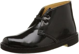 Clarks Desert Women's Boots Black Patent 4 UK
