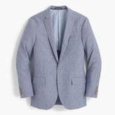 J.Crew Ludlow suit jacket in houndstooth Italian linen-wool