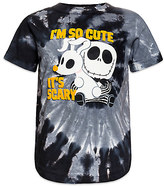 Disney Jack Skellington and Zero Tie-Dye Tee for Kids