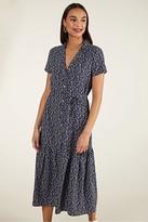Yumi Ditsy Floral Midi Dress