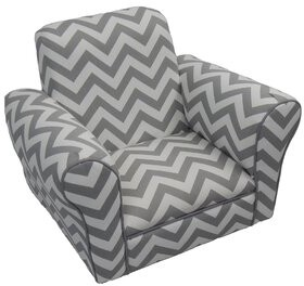 Harriet Bee Shaffer Kids Club Chair Color: Gray