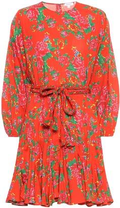 Rhode Resort Ella floral cotton minidress