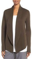 Eileen Fisher Women's Silk & Organic Cotton Sweater Jacket