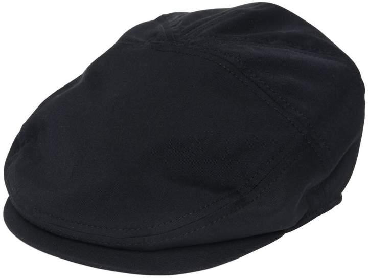 Dolce & Gabbana Stretch Wool Cotton Twill Flat Cap
