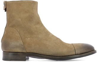 Alberto Fasciani Yago Zipped Ankle Boots