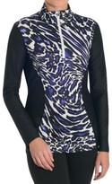 SnowAngel Snow Angel Post-Modern Slimline Base Layer Top - Zip Neck, Long Sleeve (For Women)