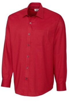 Cutter & Buck Men's Big & Tall Long Sleeves Epic Easy Care Spread Nailshead Shirt