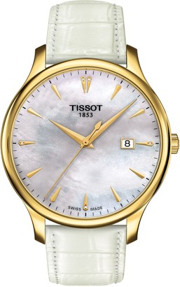 Tissot Women's Tradition Diamond Watch, 42mm - 0.006 ctw