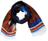 Rodarte Multicolor Abstract Scarf