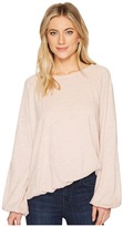 Heather Mia Cotton Slub Slouchy Sleeve Pullover Women's Clothing