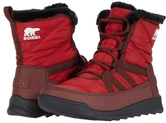 Sorel Whitney II Short Lace (Red Dahlia) Women's Boots