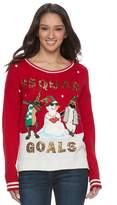 """It's Our Time Its Our Time Juniors' Squad Goals"""" Ugly Christmas Sweater"""