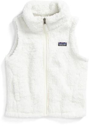 Patagonia Los Gatos Fuzzy Fleece Vest
