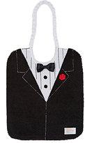 Zigozago Tuxedo Bib-BLACK