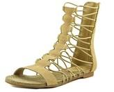 Mia Dominica Open Toe Synthetic Gladiator Sandal.