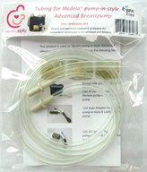 Medela NeneSupply 2 Count Tubing for Pump In Style Advanced Breastpump, Released After July 2006. BPA Free! Replace Part , 8007156, 8007212