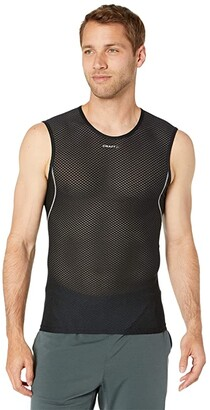Craft Cool Mesh Superlight Sleeveless (White/Silver) Men's Clothing
