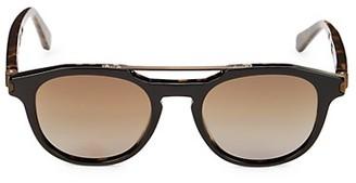 Brioni 51MM Square Sunglasses