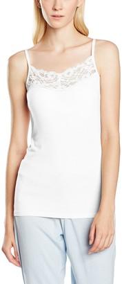 VILA CLOTHES Women's Viofficiel Lace Strap Top Vest