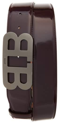 Bally Mirror Buckle Leather Belt