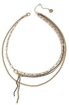 AllSaints Layered Chain Necklace, 18