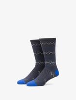 Tommy John Zig Zag Performance Dress Sock
