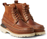 Visvim Grizzly Mid-Folk Leather Boots