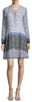 Shoshanna Silk Printed Shift Dress