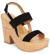 Dolce Vita Rosa Suede Platform Sandals