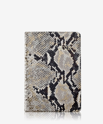 GiGi New York 2020 Daily Journal, Gold Wash Embossed Leather