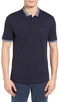 Lacoste Semi-Fancy Slim Fit Stretch Piqué Polo Shirt