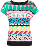 Love Moschino cherry ice cream print T-shirt