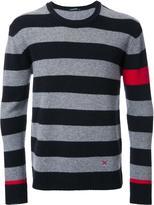GUILD PRIME striped crew neck jumper